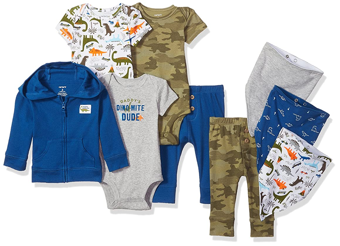 Carter's Baby Boys' 9-Piece Basic Gift Set