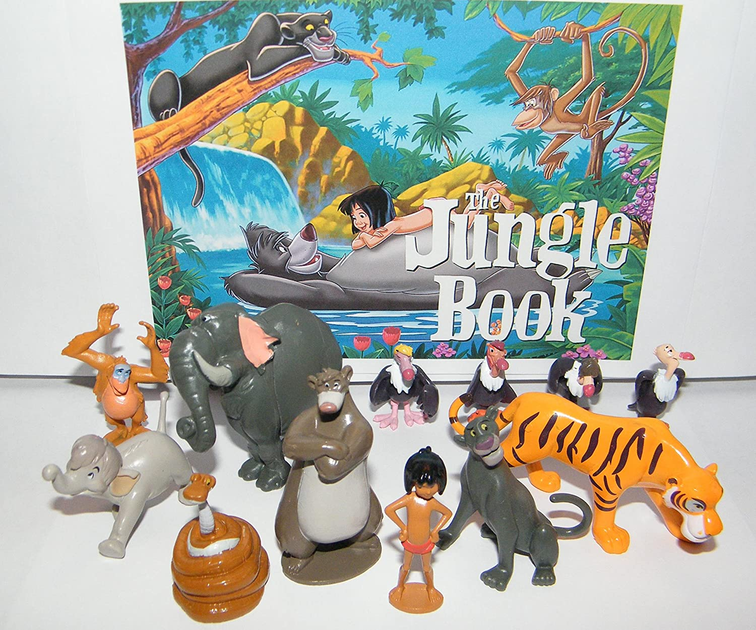 Disney The Jungle Book Set of 14 Deluxe Figure by Disney