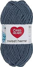 RED HEART E891.0411 Sweet Home Yarn Steel