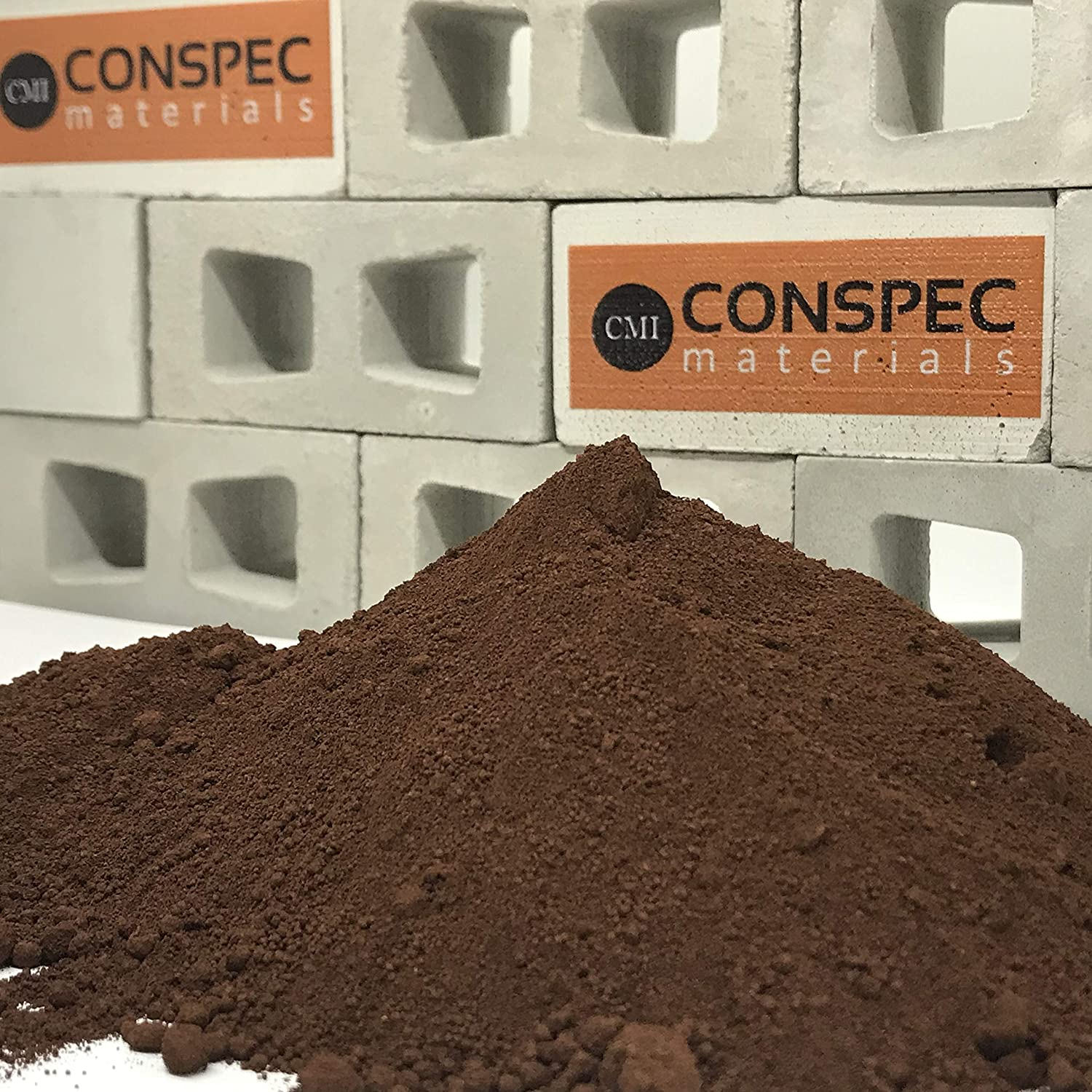 Conspec Very popular! 3 Lbs. National uniform free shipping Dark Chocolate Powdered Color for Brown Concrete