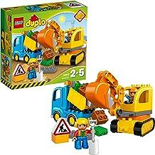 LEGO Duplo Town- Duplo Town/Construct Camión y Excavadora con orugas, (10812)