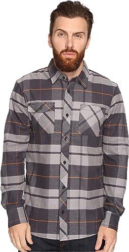 SB Plaid Woven Long Sleeve Shirt