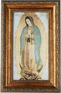 our lady of guadalupe rosary centerpiece