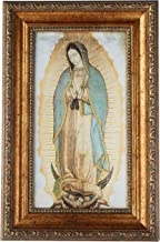 St Joseph Communications Our Lady of Guadalupe - Framed Canvas 6 x 11 (Including Frame: 9.5 x 14.5)