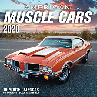 American Muscle Cars 2020: 16-Month Calendar - September 2019 through December 2020
