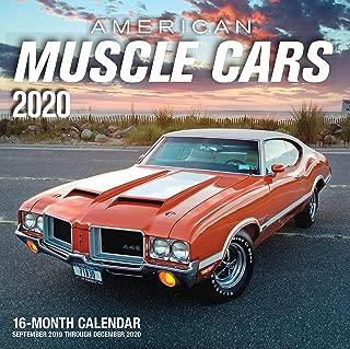 2019 muscle car calendar