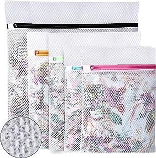 UMI. by Amazon - Sac à linge en nid d'abeille pour ranger ou laver un chemisier délicat, bonneterie, sous-vêtements et sou...