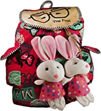 Deal Especial new stylish Bunny backpack Multicolored colors bag gift & sales 213D