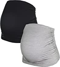 Herzmutter Belly Band for Pregnancy - Maternity Belly Band - Set of 2 - Women´s Maternity Wear - German Brand - 6000_6100