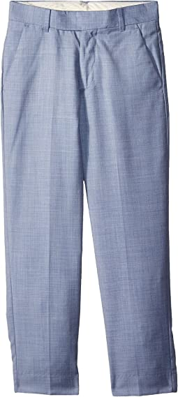 Calvin Klein Kids Striated Sharkskin Pants (Big Kids)