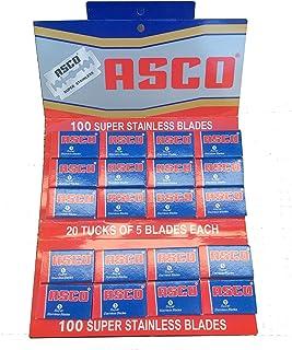 Asco brzytwa + 12 wymiennych ostrzy jednorazowych, 1 opakowanie