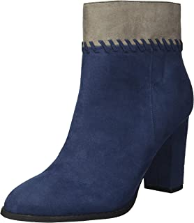 Athena Alexander Women's Nantes Ankle Boot, NAVY SUEDE, 7 M US