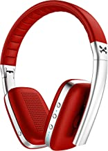 Ghostek Rapture Series Bluetooth Wireless Headphones with Microphone   Red