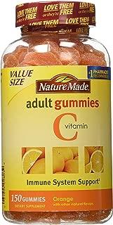 Nature Made Adult Gummies Vitamin C, Orange Flavors, 150 G