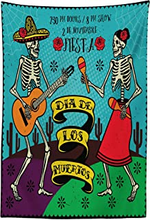 Best dia de los muertos fabric print Reviews