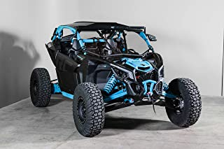Can-Am Maverick X3 Full Windshield (Works with Intrusion Bars) - Made in the USA!.