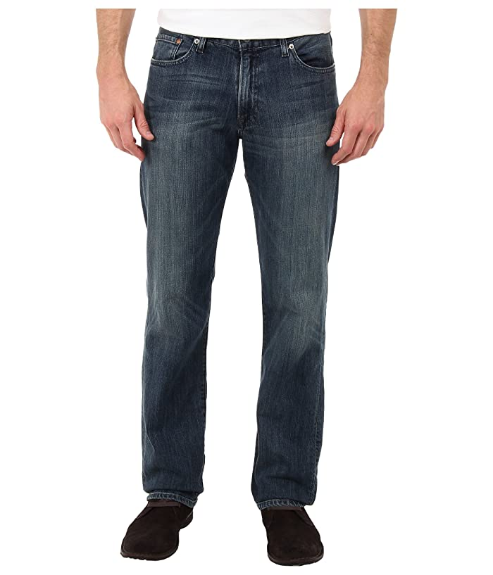 Lucky Brand  221 Original Straight in Blue Gold (Blue Gold) Mens Jeans