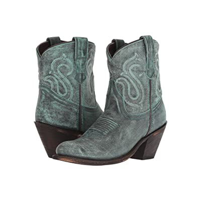 Dingo Ariel (Turquoise Leather) Cowboy Boots