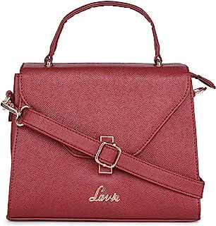 Lavie Gypsy Flap Satchel Women's Handbag (D Red)