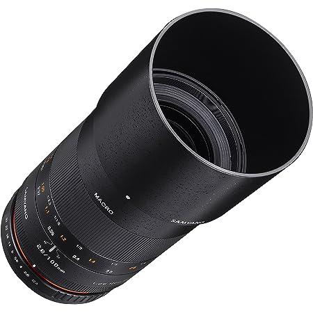 Samyang 100mm F2.8 ED UMC Full Frame Telephoto Macro Lens for Sony E-Mount Interchangeable Lens Cameras