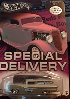 Hot Wheels Special Delivery 8 crate new in package limited edition 3/4