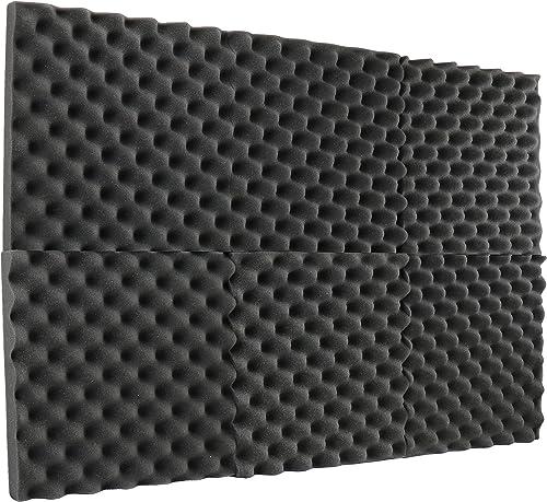 "2021 New online sale Level 6 online Pack- Acoustic Panels Studio Foam Egg Crate 2"" X 12"" X 12"" outlet online sale"
