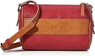 Esprit 080EA1O302, Bandolera para Mujer, 610/rojo oscuro, Einheitsgröße