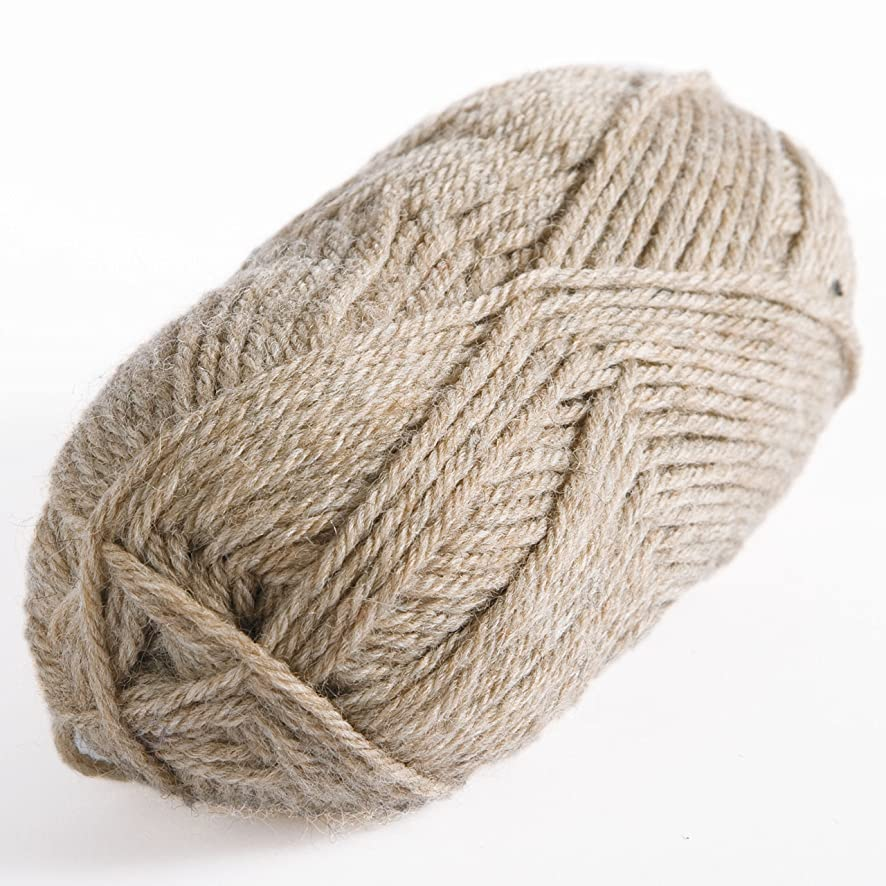 Knit Picks Wool of the Andes Worsted Weight Yarn (1 Ball - Mink Heather)