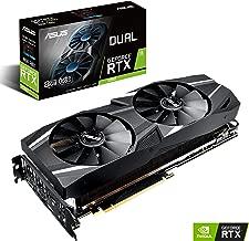 ASUS GeForce RTX 2070 8G GDDR6 Dual-Fan Edition VR Ready HDMI DP USB Type-C Graphics Card (DUAL-RTX-2070-8G) (Renewed)