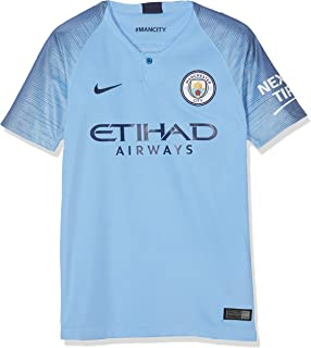 Nike Manchester City 2018-2019 Home Shirt (Kids) Soccer Jersey