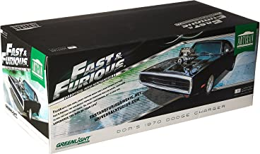 Dom's 1970 Dodge Charger Fast & Furious-The Fast and The Furious (2001) Movie Artisan Collection 1/18 by Greenlight 19027