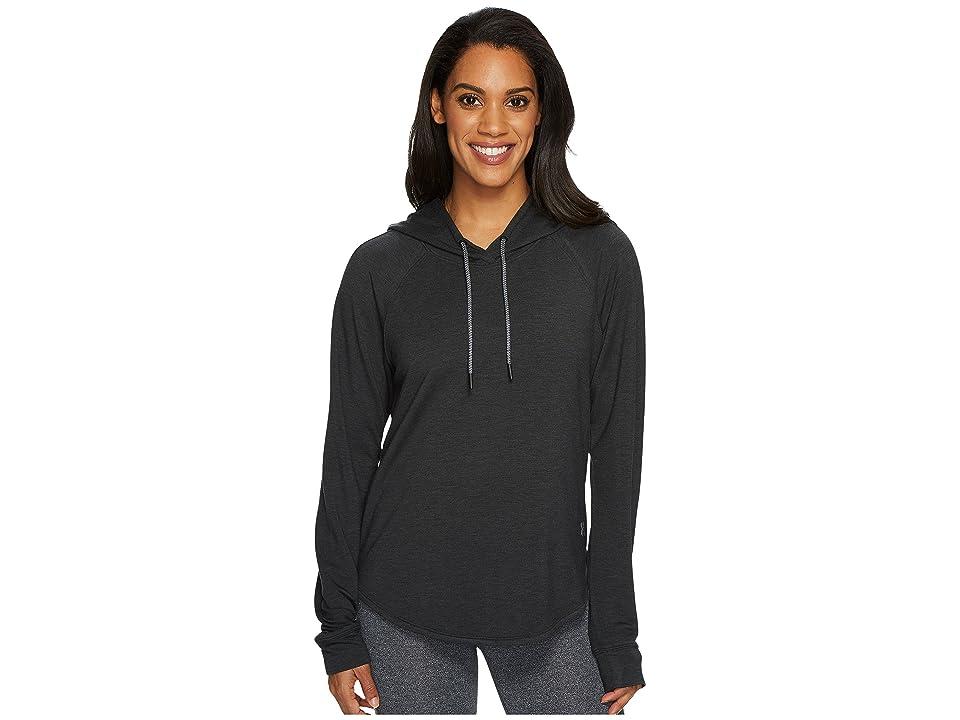 Under Armour Featherweight Fleece Pullover Hoodie (Black/Graphite) Women