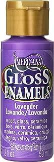 DecoArt DAG34-30 Gloss Enamel Paint Lavender 2OZ, Multicolor