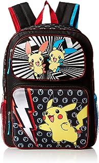"Pokemon Pikachu Molded Eva 16"" Double Pocket Backpack, Black (Black) - PM-BP-265-PROD"