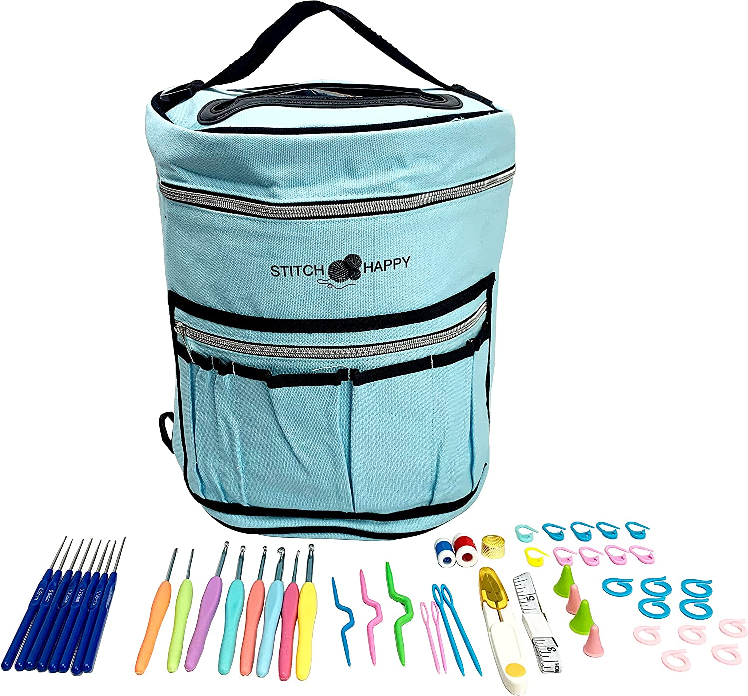 Designer Max 59% OFF Stitch Happy Crocheting Kit: Limited time for free shipping 52 B Crochet Kit Piece