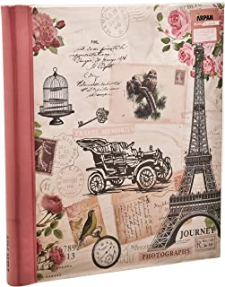 Arpan Pink Travel Large Self Adhesive Photo Album - Vintage