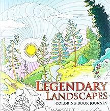 Legendary Landscapes: Coloring Book Journey