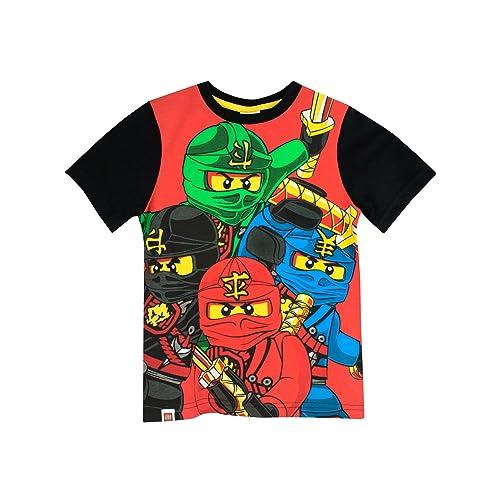 12b268714609 LEGO Boys Ninjago T-Shirt Ages 4 to 13 Years