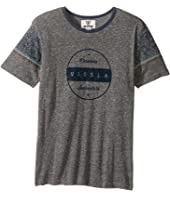 VISSLA Kids - Striker Short Sleeve Tri-Blend Crew Knit (Big Kids)