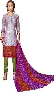 Minu salwar Cotton Printed Suit sets Multi(Mannat_1011_0)