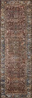 Loloi ll LAY-01 Layla Collection Printed Vintage Persian Area Rug 2'6