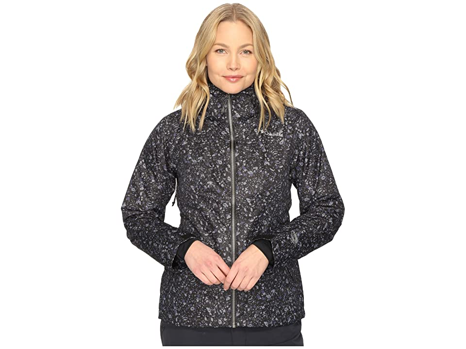Columbia Unparalleled Jacket (Black Neps Print) Women