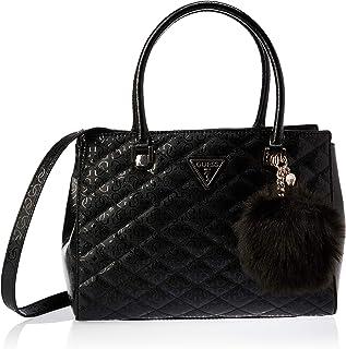 GUESS Women's Satchel Handbag, Black - SG747909