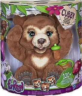 Furreal Friends - Peluche interactivo Cubby Mi Oso Curioso (