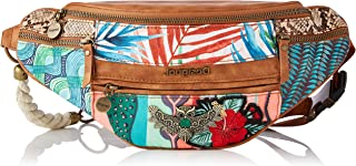 Desigual Womens Fabric Belt Bag Back, RED, U