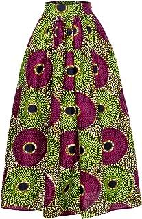 ankara long skirts designs