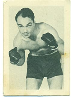 1939 African Tobacco Eddie Maguire #100 Vintage Boxing Card