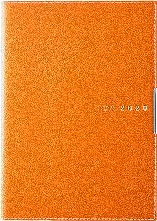 高橋 手帳 2020年 4月始まり A5 マンスリー ディアクレール ラプロ 2 オレンジ No.627