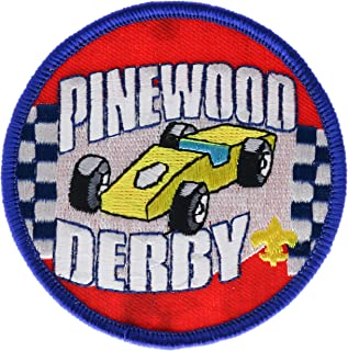 bsa pinewood derby patch