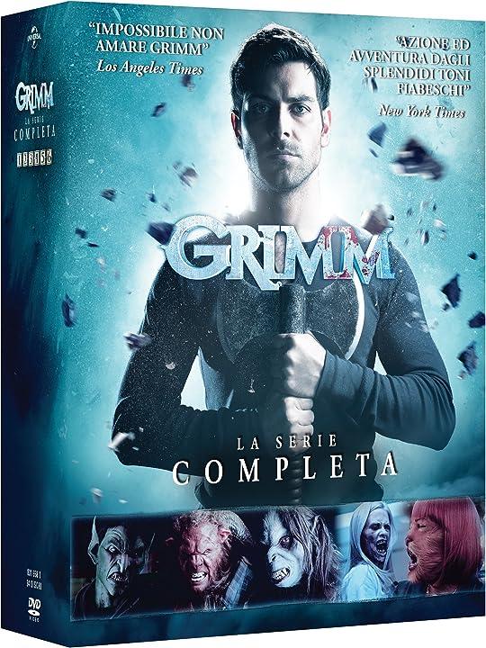 Grimm 1-6 (box 34 dvd serie completa) B07DV5M3PV